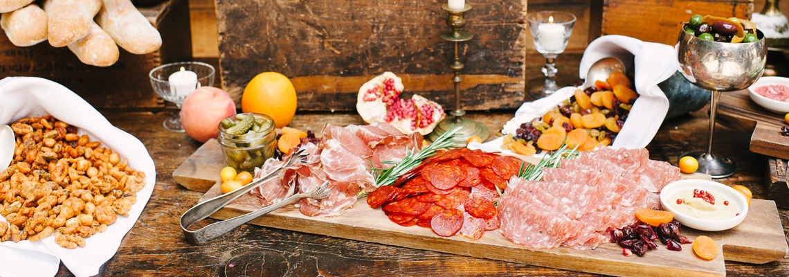 Brooklyn Winery Wedding Charcuterie Spread