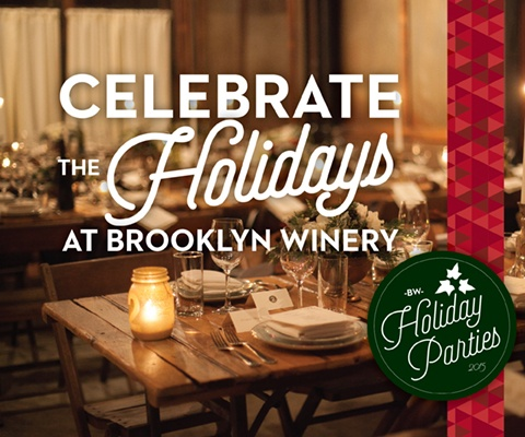 Brooklyn Winery Holiday Parties Mobile