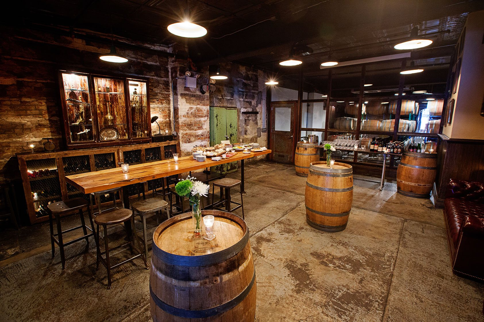 Corporate event spaces at brooklyn winery the parlor room the wine bar malvernweather Image collections