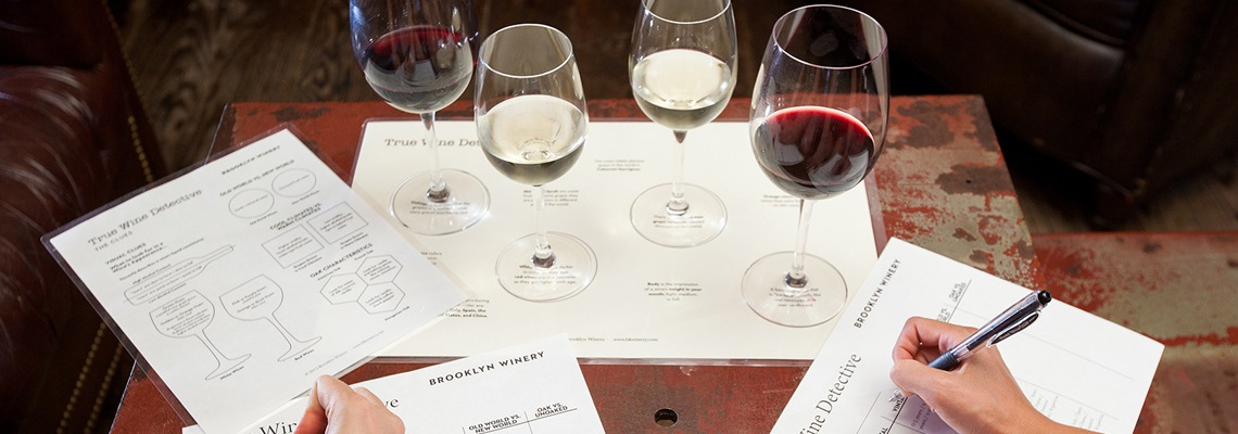 Brooklyn Winery Blending Session