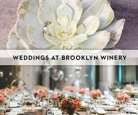 Weddings at Brooklyn Winery