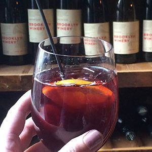 Brooklyn Winery Red Sangria Cocktail
