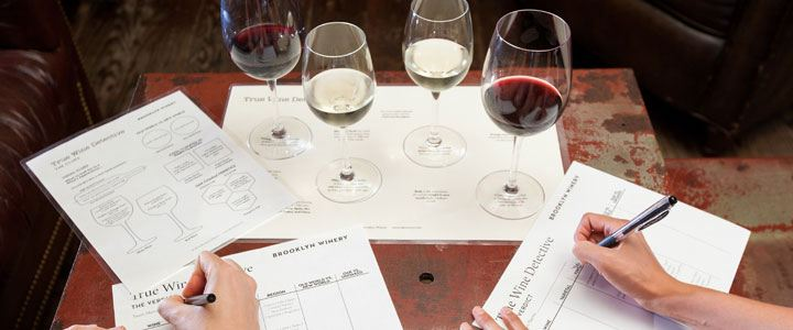 True Wine Detective Team Building Games