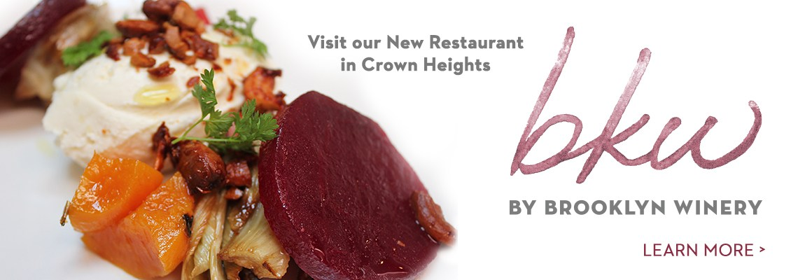 New Restaurant: BKW, by Brooklyn Winery