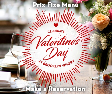 Valentine's Day at Brooklyn Winery