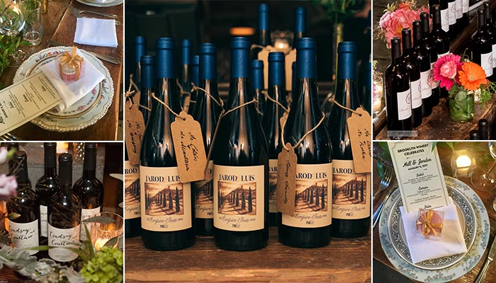 Brooklyn Winery Wedding Favors