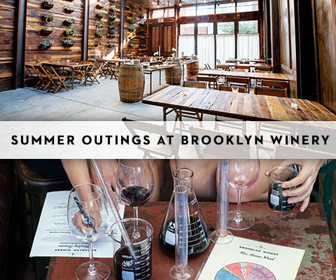 Brooklyn Winery Corporate Outings