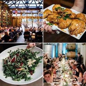 Wedding Menu Selections
