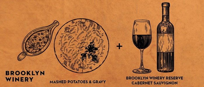 Brooklyn Winery Thanksgiving Wine Pairings: Potatoes + Gravy