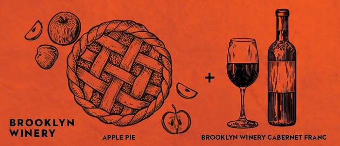 Brooklyn Winery Thanksgiving Wine Pairings: Apple PIe