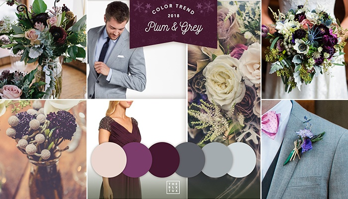 Winter wedding color palettes brooklyn winery plum is also the color of wine which perfectly sets the tone for weddings at brooklyn winery for a chilly winter wedding this is exactly the right color junglespirit Gallery